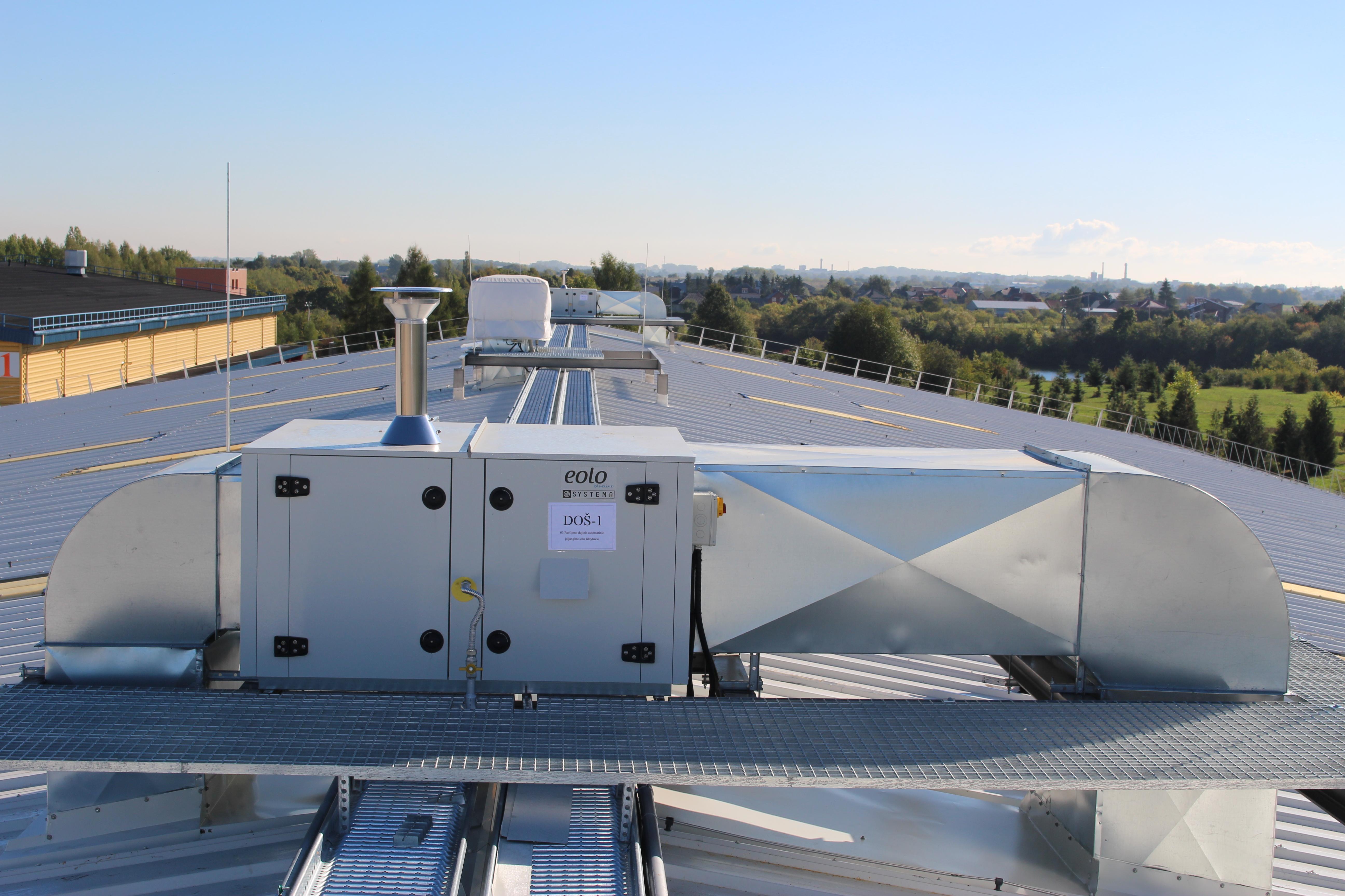 Riscaldamento Ad Aria A Gas.Riscaldamento Ad Aria Con Generatori Systema